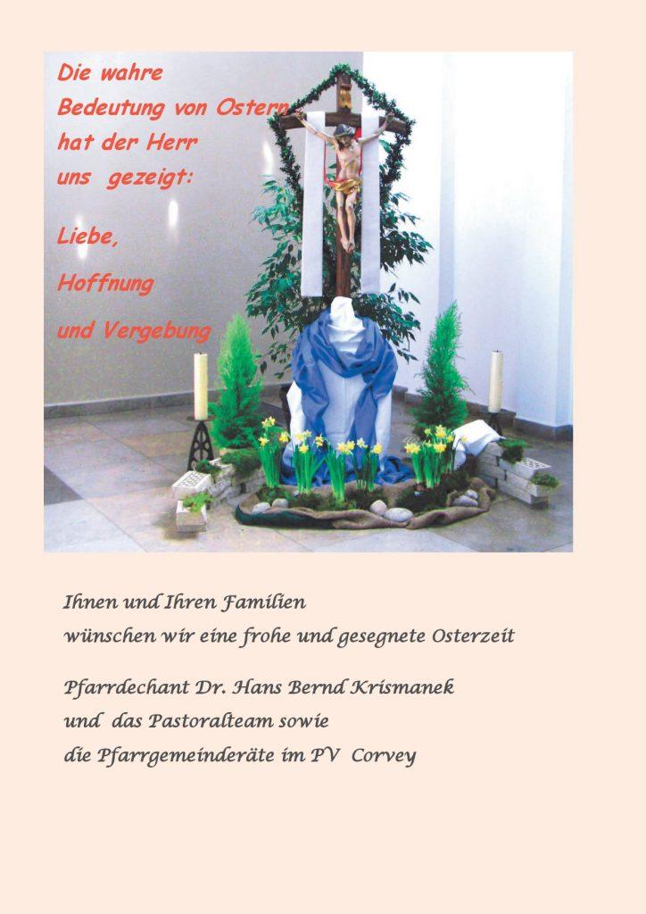 Auferstehungskreuz St. Peter und Paul