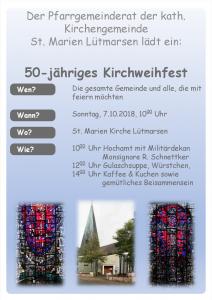 Kirchweihfest Lütmarsen