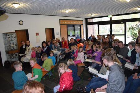 Mini Gottesdienst in Bruchhausen
