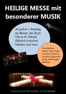 Heilige Messe mit besonderer Musik