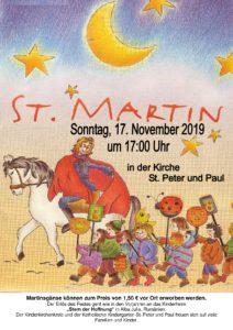 Einladung zu St. Martin